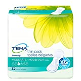 TENA Serenity Thin Pads, 13', Moderate Absorbency, Long, 52070 - Case of 128