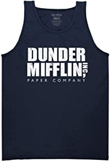 The Office Adult Unisex Dunder Mifflin Vintage Heavy Weight 100% Cotton Muscle Tank Top