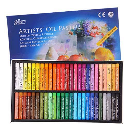 Wrubxvcd 48 Couleur Pastel À L'huile, Peinture Dessin Stylo, Pour Étudiant Artiste, Graffiti Pastel Doux