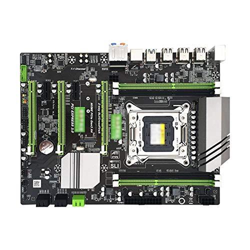 TOPOU Plato Principal X79 Motherboard V4 Versión LGA2011 Pin Fragmento de Calor Grande Gigabit Tarjeta de Red DDR3 M.2 Interfaz de Disco Duro de Alta Velocidad Placa Base de la computadora