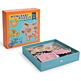 Andreu Toys-MI Deer Mom and Baby Puzzle, Multicolor, 25 x 25 x 5 cm (MD3012)