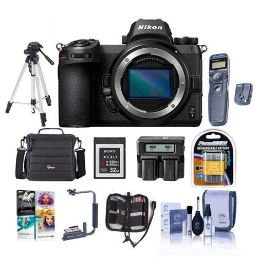 Great Features Of Nikon Z7 FX-Format Mirrorless Camera Body - Bundle with Camera Case, Spare Battery...