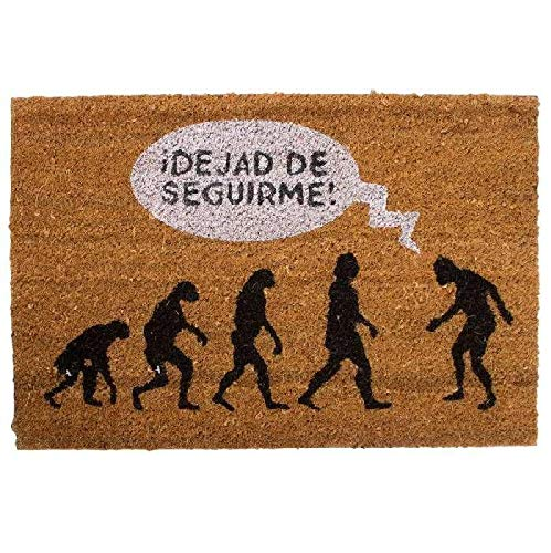 D'CASA DCASA Antideslizante Evolucion Referencia DC Felpudos Textiles del hogar Unisex Adulto, Multicolor (Multicolor), única