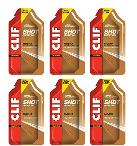 Clif Shot Gel  Mocha  6 Pack 6 x 12oz Packs