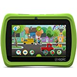 LeapFrog Epic 7in Android-based Kids Tablet 16GB, Green (Renewed)