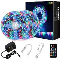 2-Pack Richsing 32.8ft Waterproof RGB LED Light Strip