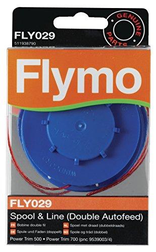 Genuine Flymo FLY029 - Carrete de hilo doble para cortacésped