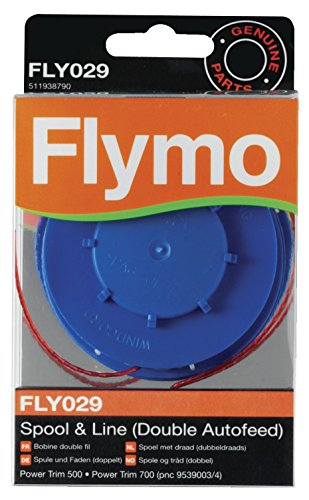 Lot de 5 Flymo FLY021 rotofil Révolution Contour Bobine et ligne de remplacement