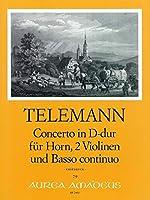 TELEMANN - Cuarteto en Re Mayor (TWV:43/d8) (Partitura/Partes)