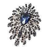 MENGHUA Britische Herren-Brosche, formelle Kleidung, Hochzeit, Diamant, Kragen, Blume, Bräutigam, Hochzeitsuniform, Hochzeits-Krawatte, hochwertige Diamant-Brosche