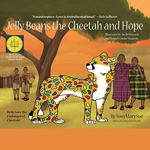 Jelly Beans the Cheetah and Hope audiobook cover art