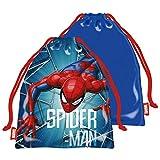 ARDITEX SM13514 Bolsa Merienda 26.5X21.5cm de Marvel-Spiderman