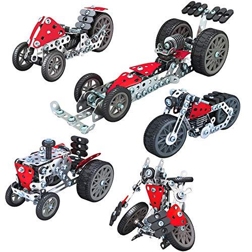 Variety Robot 3D Metal Puzzle Kits de construcción de Modelos Rompecabezas de Corte láser Rompecabezas de Bricolaje y Kit de Modelo 3D