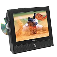 """Screen Size: 13.3 """" Widescreen LED HDTV. HDTV Compatible (480p,720p,1080i,1080p) Video Resolution: HD - 720p. Maximum Resolution: 1366 x768 Contrast Ratio: 500:1. Brightness: 250cd/m2 Built in Digital and Analog Tuner. Cable Ready Built in Voltage S..."""