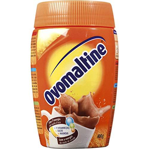 Ovomaltine (Ovaltine) - Cocoa powder with malt - 400gr x 3 = Total: 1200gr * Ovomaltine(Ovaltine)-...