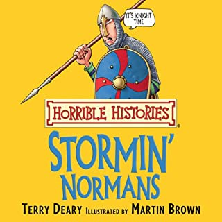 Horrible Histories: Stormin' Normans audiobook cover art