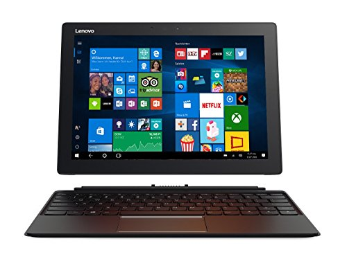 Lenovo Miix 720 30,5 cm (12,0 Zoll QHD IPS Touch) Convertible Tablet-PC (Intel Core i5-7200U, 8  RAM, 256  SSD, Windows 10 Pro) schwarz