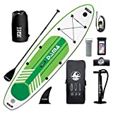 """DAMA Inflatable Stand Up Paddle Boards, 10'6''×31""""×6"""" Ultra-Light, Camera Mount Included with..."""