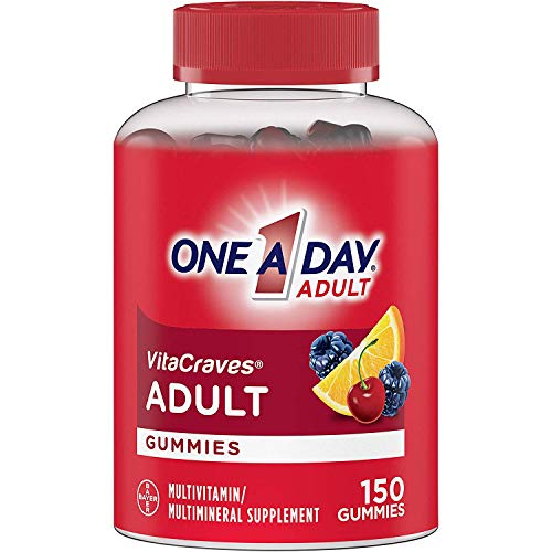 One A Day VitaCraves Adult Multivitamin Gummies, 150 Count
