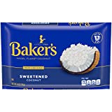 Ten 14 oz. bags of Baker's Sweetened Coconut Angel Flake Coconut Make any recipe special with moist and delicious Baker's Sweetened Coconut Angel Flake Coconut Perfectly sweetened coconut flakes are a great match for sweet desserts Savor the tropical...