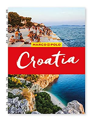 Croatia Marco Polo Travel Guide - with pull out map (Marco Polo Spiral Travel Guides)