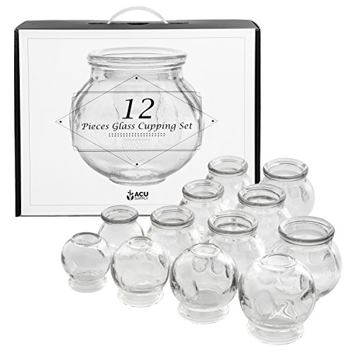 Glass Cupping Therapy Set