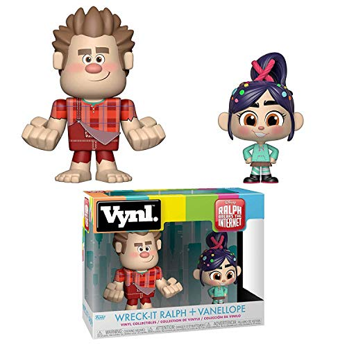 Wreck It Ralph 2 Funko VYNL. Figure 2 Pack - Ralph & Vanellope