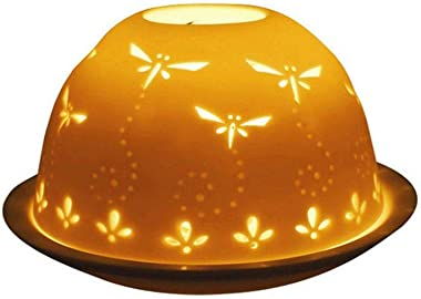 Welink Light-Glow Tealight Candle Holder, Dragonflies