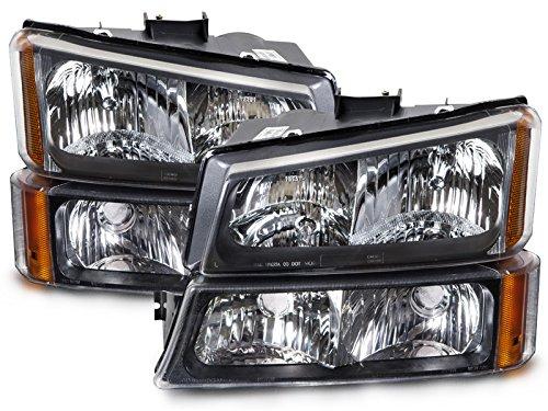 04 silverado oem headlights - 5