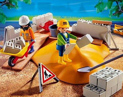 PLAYMOBIL® 4138 - Kompaktset Baustelle