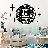 Clásico creativo estrella pegatinas de pared decoración del hogar pegatinas de pared mural art decal wallpaper A1 42x62cm
