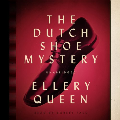 The Dutch Shoe Mystery audiobook cover art