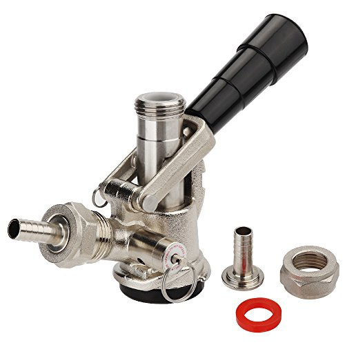 MRbrew Beer Keg Coupler S-Type System European Style with Classic Handle & Stainless Steel Probe