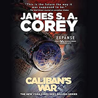 Page de couverture de Caliban's War