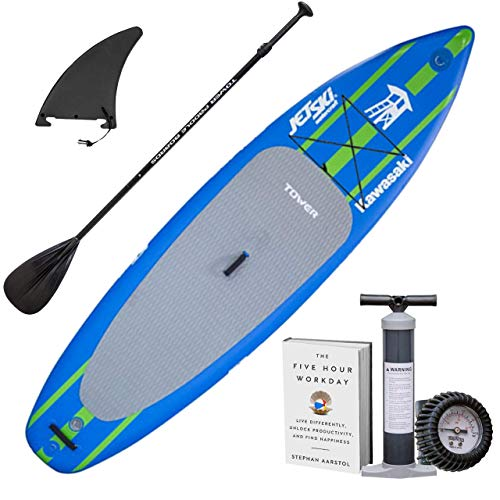 "TOWER Inflatable 10'4"" Stand Up Paddle Board -..."