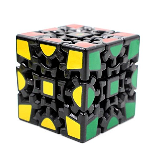 Magic Combination 3d Gear Cube I Generation Black Painted Stickerless Twisty Puzzle by Magic Cube by Magic Cube