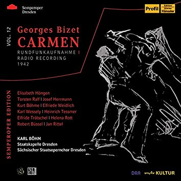 Bizet: Carmen, WD 31 (Sung in German) [Live]