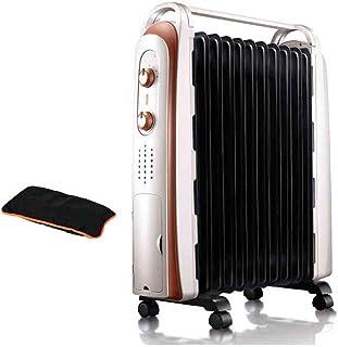 FEI Calefactor Calentador de convección 2200W con 3 configuraciones de calefacción, termostato Manual y protección contra sobrecalentamiento Corte de Seguridad de inclinación