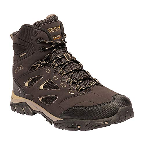 Regatta Holcombe Iep High Rise Hiking Boot, Chaussures de Randonnée Hautes Homme, Marron (Peat 6v3), 39 EU