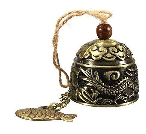 Hilai Campana vintage de dragón Fengshui de buena suerte Bless hogar
