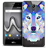 Caseink - Coque Housse Etui pour Wiko Tommy 2 (5) [Crystal Gel HD Polygon Series...