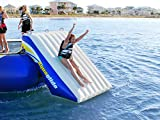 AQUAGLIDE Plunge Slide - Slide Attachment for Water Trampolines
