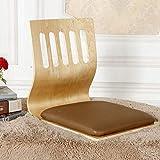 StarrkD Bay Window Silla Tatami Lazy Bench Dormitorio Backrest Ergonomía Japonesa Sin Piernas para...