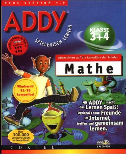 ADDY: Mathe Klasse 3 und 4. 3 CD- ROMs für Windows 95