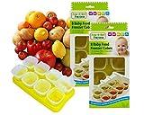 Baby Freezer Cube Trays. 2 x Trays 16 x 70ml Pots BPA Free, Free Shipping