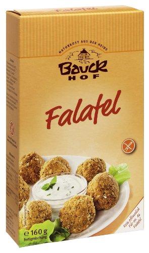 Bauckhof Falafel, glutenfrei, 2er Pack (2 x 160 g Tüte) - Bio