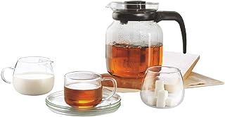 Borosil Piccoletta Tea Set, 9-Pieces