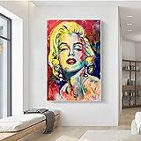 XuFan Wandbilder Poster Gemälde Marilyn Monroe