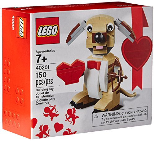 LEGO Bricks & More Valentines Cupid Dog...