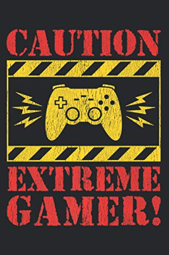 Funny Video Games Extreme Gamer Controller For Men Boys Kids Premium: Management Notebook - Perfect size, 112 Pages